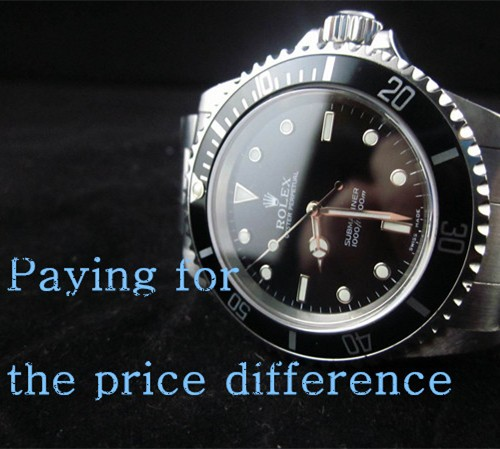 The Link for Paying Price Difference