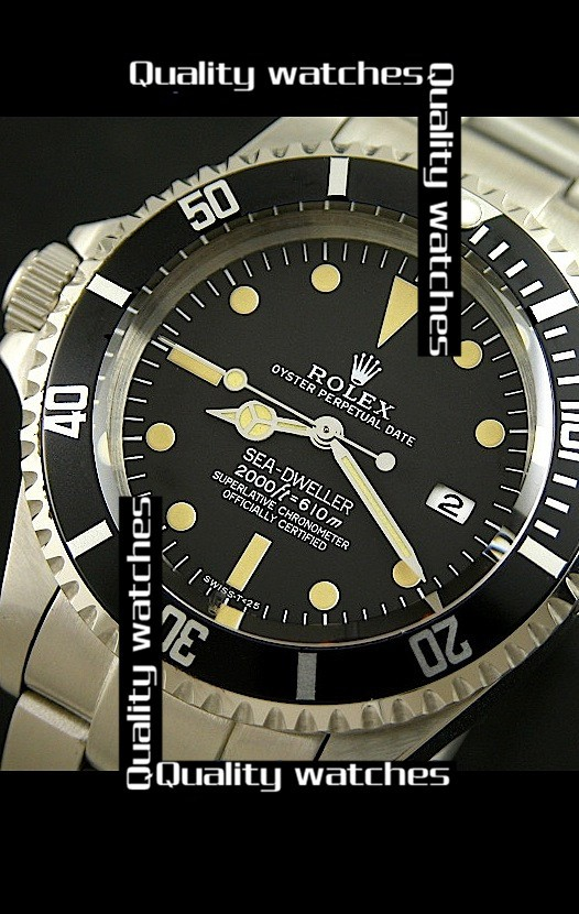 Rolex Sea-Dweller Polizia Di Stato Left Hand Edition Automatic Replica Watch