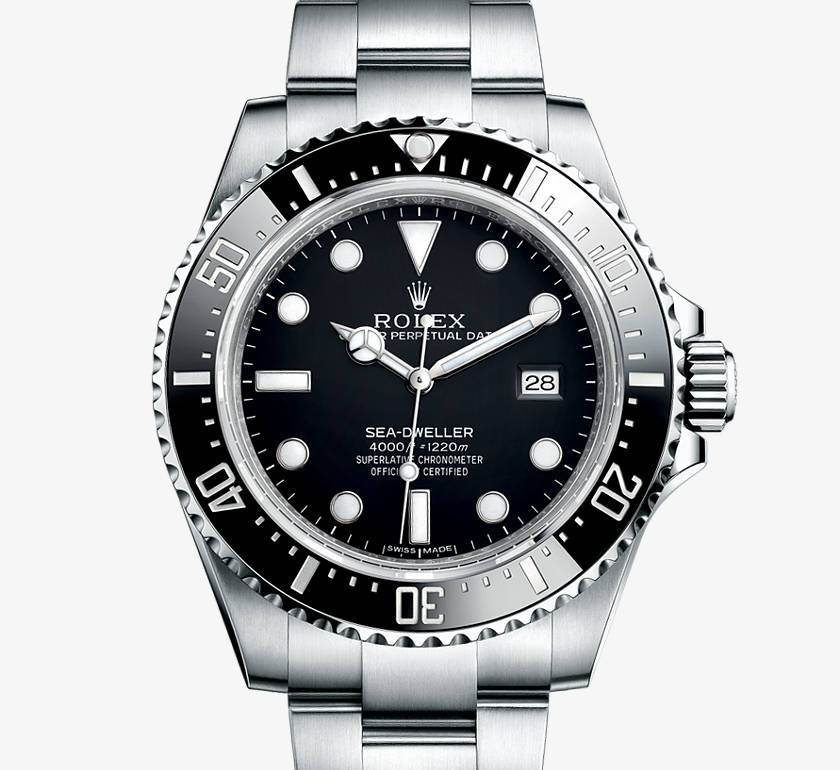 Swiss Rolex Sea-Dweller 116600 Black dial Men Automatic Replica Watch(Super Model)