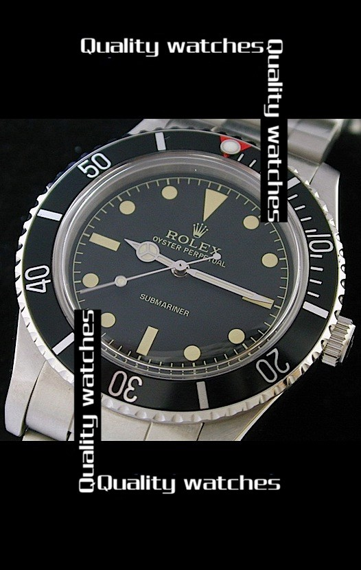 Rolex Submariner Black dial Red top Automatic Replica Watch