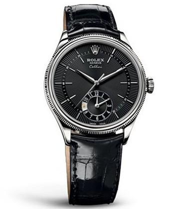 Rolex Cellini Swiss Replica Watch 50529-0007 Black Dial 39mm (High End)