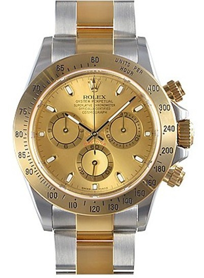 Swiss Rolex Oyster Perpetual 116523-78593 Yellow dial Men Automatic Replica Watch
