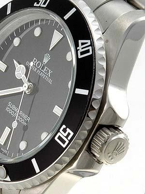 Rolex Submariner Date Replica Watches Stainless Steel Black Dial Black Bezel RX411