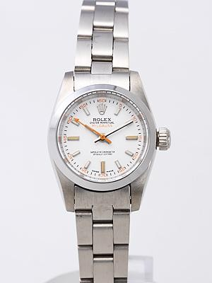 Rolex Milgauss Replica Watches White Dial SS Band RX8463