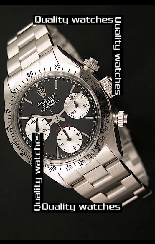Swiss Rolex Oyster Cosmograph Daytona White Sub-Dials  37mm Automatic Replica Watch