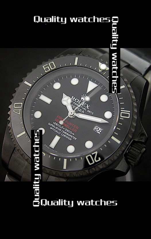 Rolex Deepsea Pro-Hunter Sea-Dweller Jacques Piccard Edition 43mm Automatic Replica Watch