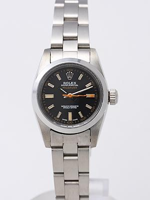 Rolex Milgauss Replica Watches Black Dial SS Band RX8467