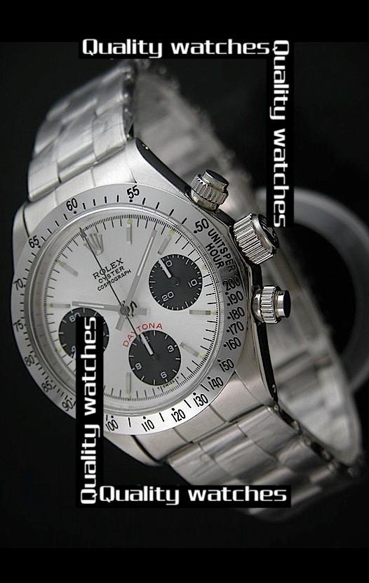 Swiss Rolex Oyster Cosmograph Daytona Black Sub-Dials 38mm Automatic Replica Watch