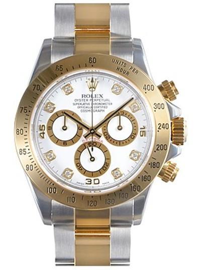 Swiss Rolex Oyster Perpetual 116523 Yellow Bezel Men Automatic Replica Watch