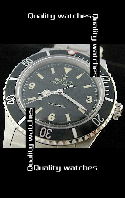 Rolex Submariner Vintage Black dial Automatic Replica Watch