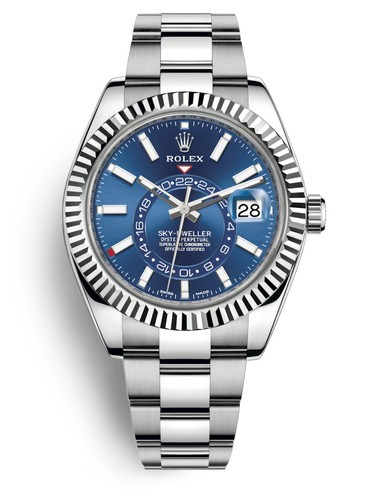 Rolex Sky-Dweller 326934-0003 Automatic Replica Watch Blue Dial 40mm