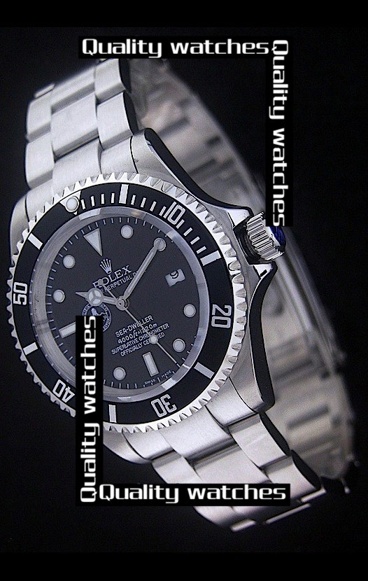 Replica Rolex Sea-Dweller Polizia Di Stato Octopus pattern Automatic Watch