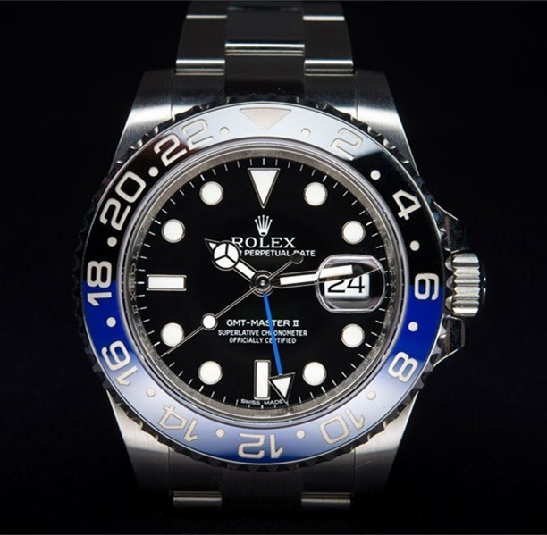 Swiss Rolex GMT-Master II 116710BLNR 3186 Automatic Watch (Super Model)
