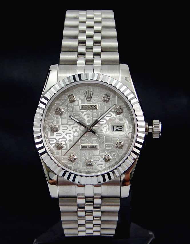 Swiss Rolex Datejust 178274 Silver Dial Ladies Automatic Replica Watch