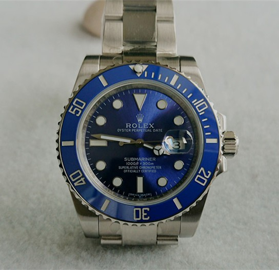 Swiss Rolex Submariner 116610 Blue Dial 3135 Movement (Super Model)