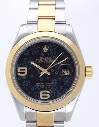 Rolex Datejust II Replica Watches Black Dial RX4129