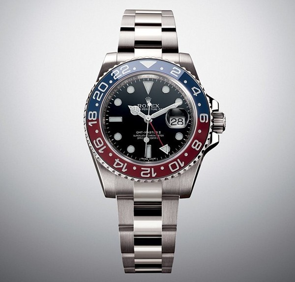 Rolex GMT-Master II Swiss Cal.3186 Automatic Watch Blue Red Bezel (Super Model)