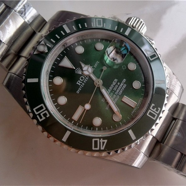 Rolex Submariner 116610 Green Dial
