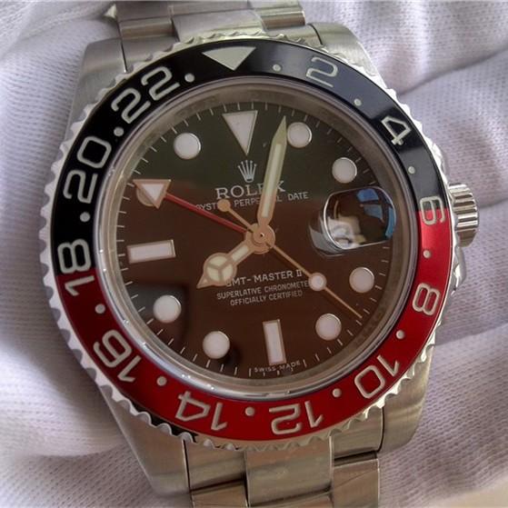 Rolex GMT-Master II Black Dial Black&Red Bezel