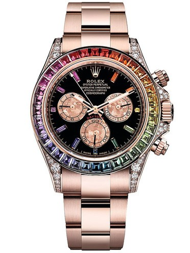 Replica Rolex Daytona Swiss Watches Rose Gold 116595Rbow-0001 40mm (High End)