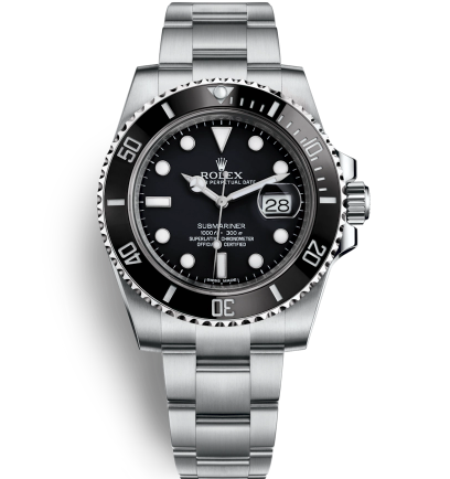 Rolex Submariner Date Automatic Replica Watch Black Dial 40mm