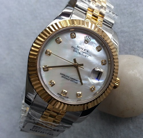 Replica Rolex Datejust Swiss Watches 126233-0023 MOP Dial 36mm(High End)