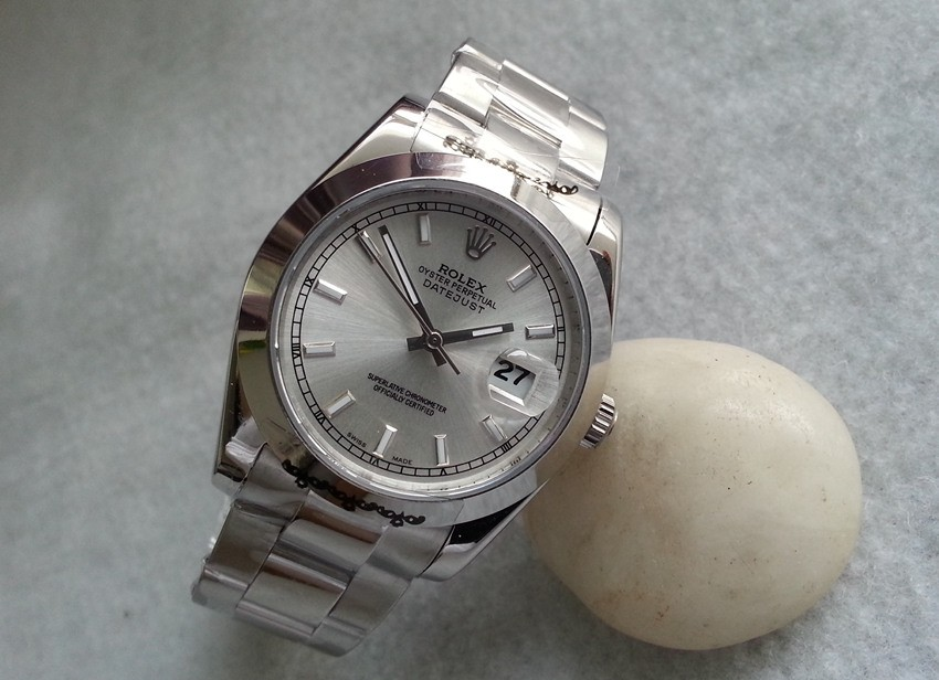 Rolex Datejust Automatic Replica Watches 116200 Silver-Gray Dial 36mm