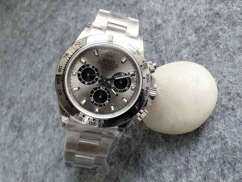 Replica Rolex Daytona Swiss Automatic 116509-0072 Gray Dial 40mm (High End)
