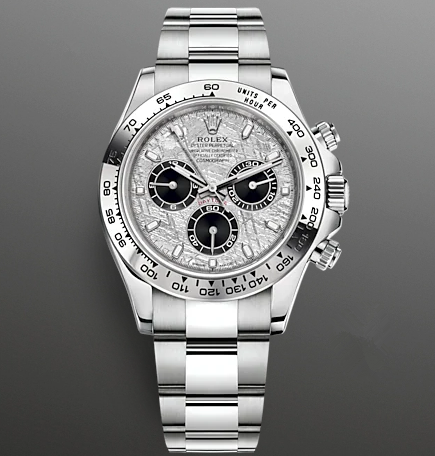 Replica Rolex Daytona Swiss Watches 116509-0073 Meteorite Dial 40mm(High End)