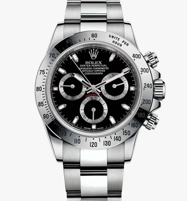 Rolex Dayatona Cosmograph Swiss Cal.4130 Automatic Watch Black Dial (High End)