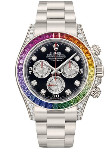 Replica Rolex Daytona Swiss Automatic 116599RBOW Black Dial 40mm (High End)