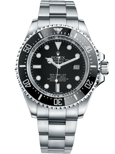 Replica Rolex DeepSea Sea-Dweller Swiss Automatic Black Dial 44mm (High End)