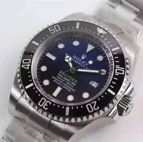 Rolex Deepsea Sea-Dweller Swiss ETA3135 Automatic Watch D-Blue Dial
