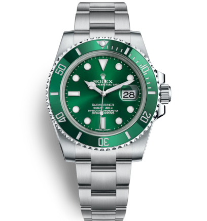 Replica Rolex Submariner Automatic Watch 116610LV-0002 Green Dial 40mm