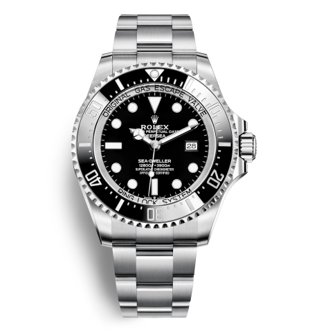 Replica Rolex Deepsea Sea-Dweller Automatic Watch 116660-0001 Black Dial 44mm