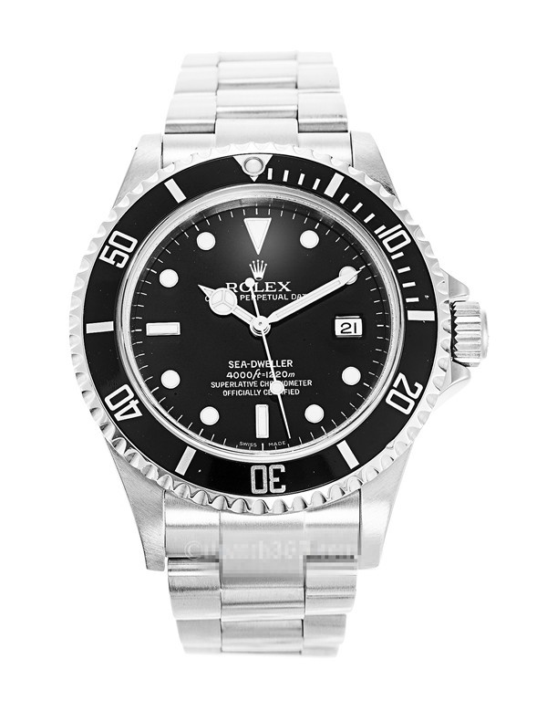 Replica Rolex Sea-Dweller 4000 Swiss Automatic Black Dial 40mm (High End)