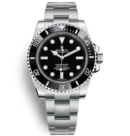 Rolex Submariner 114060-0002 Automatic Replica Watch Black Watch 40mm