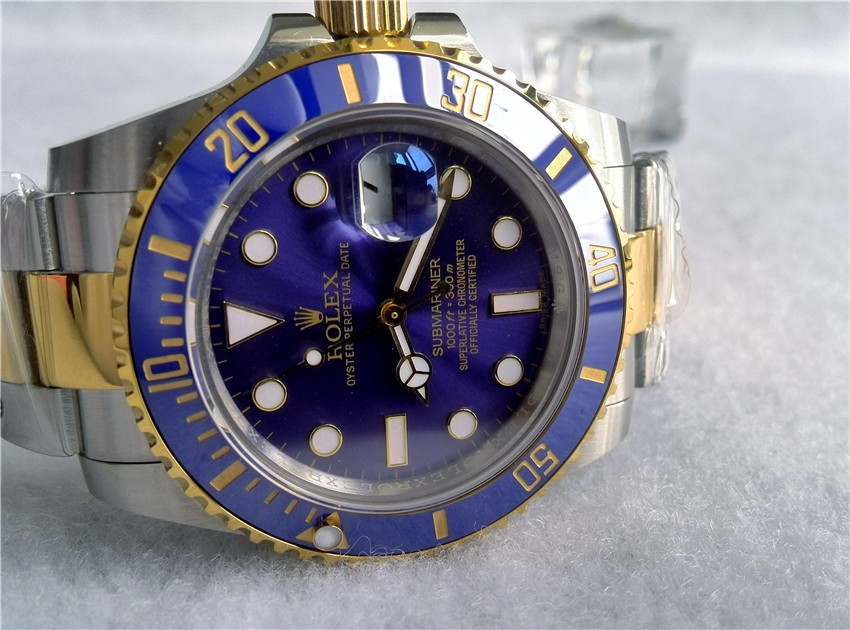 Rolex Submariner Automatic Watch Dark Blue Dial