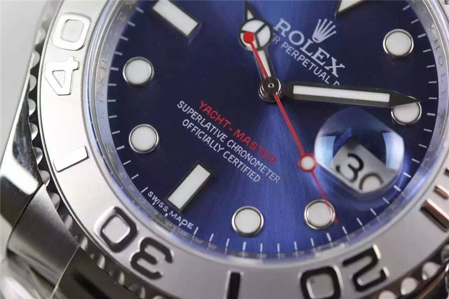 Rolex Yacht-Master Swiss Automatic Watch Dark Blue Dial