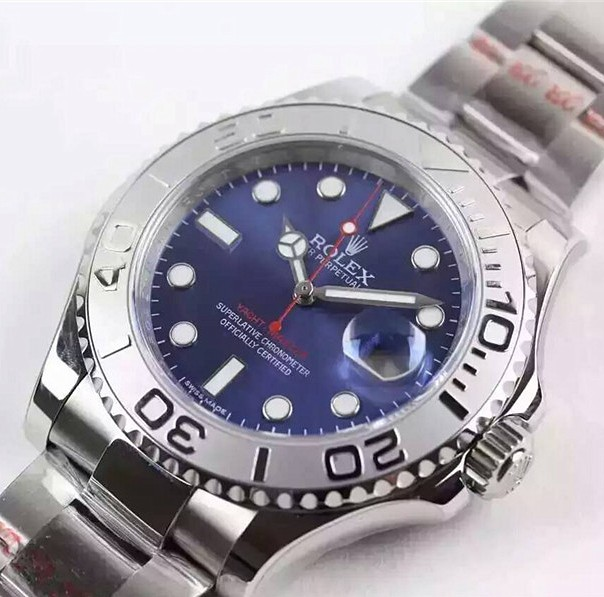 Rolex Yacht-Master Swiss Automatic Watch Dark Blue Dial (High End)