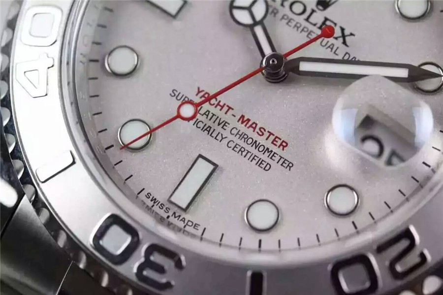 Rolex Yacht-Master Swiss Automatic Watch Silver Dial