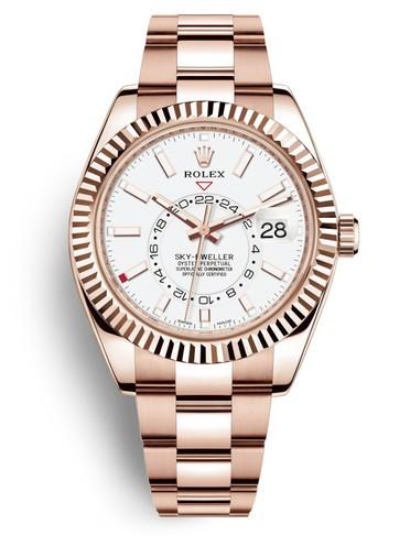 Rolex Sky-Dweller 326935-0005 Automatic Replica Watch White Dial 40mm