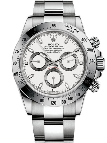 Replica Rolex Daytona Automatic Watch 116520 White Dial 40mm