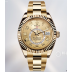 Rolex Sky-Dweller Full Gold Casing, 18K Yellow Gold Coating Thickly