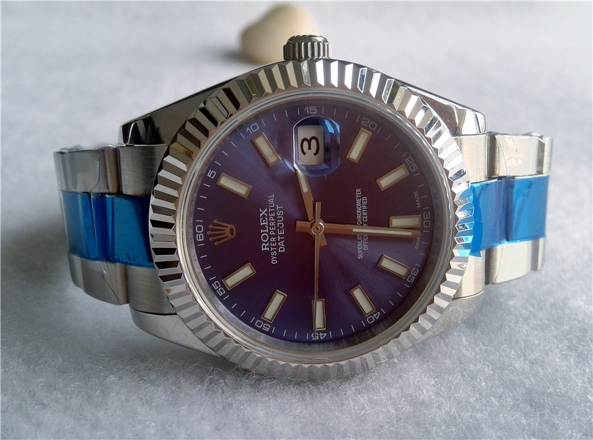 Rolex DateJust Replica Watches 41 MM Big Dial, show your charming taste